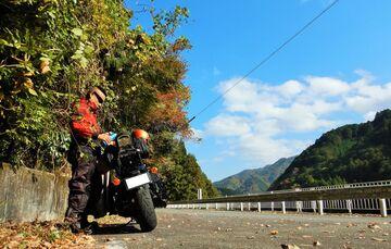 ブログ更新~オートバイの旅~justa2ofus-kzblues.com  「名阪国道南在家ICから奈良県曽爾村辺りをウロウロと。帰宅後オイル交換等。2020.11.15(日)」 | Webikeツーリング