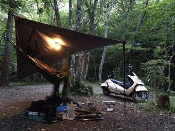 7月2日(月)-3日(火)ワンショルダーバッグでミニマムキャンプ「道志の森キャンプ場」 | Webikeツーリング