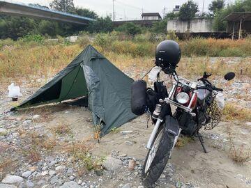 かわせみ河原でキャンプ | Webikeツーリング