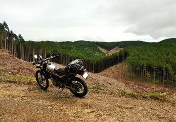 ブログ更新~オートバイの旅~justa2ofus-kzblues.com  「約1ヵ月ぶりのシェルパで三河の林道へ。2020.9.26(土) その1」   Webikeツーリング