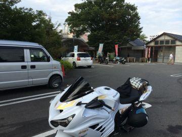 道の駅柳津到着! | Webikeツーリング