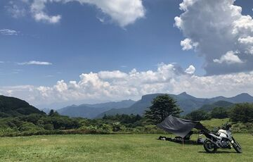 キャンプツーリング(内山牧場) | Webikeツーリング