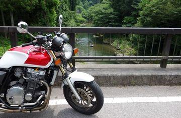 栃木の清流大芦川とにら蕎麦♪ 夏の風景を探しに… CB1000SF | Webikeツーリング