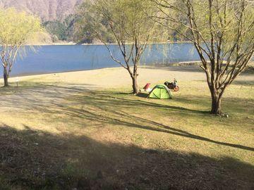 最高にサイコな西湖でキャンプ 1 | Webikeツーリング