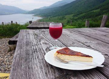 チーズケーキ と 天然木苺J | Webikeツーリング