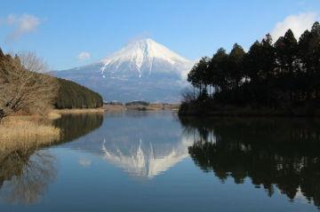 逆さ富士の撮影スポット 田貫湖へ | Webikeツーリング