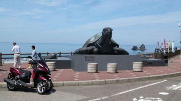 新潟県の親不知ピアパーク | Webikeツーリング