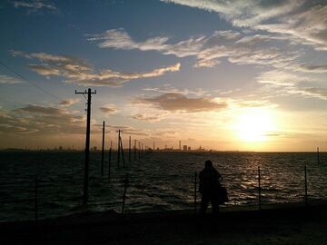 東京湾の夕日を見に行く旅(8月26日準備)   Webikeツーリング