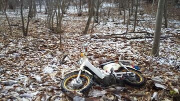 今シーズン初積雪なので山遊びへ・・・ | Webikeツーリング