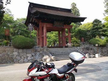 風林火山で知られる恵林寺にバイクで! | Webikeツーリング