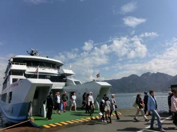 宮島へ行ってきました。【前編】   Webikeツーリング