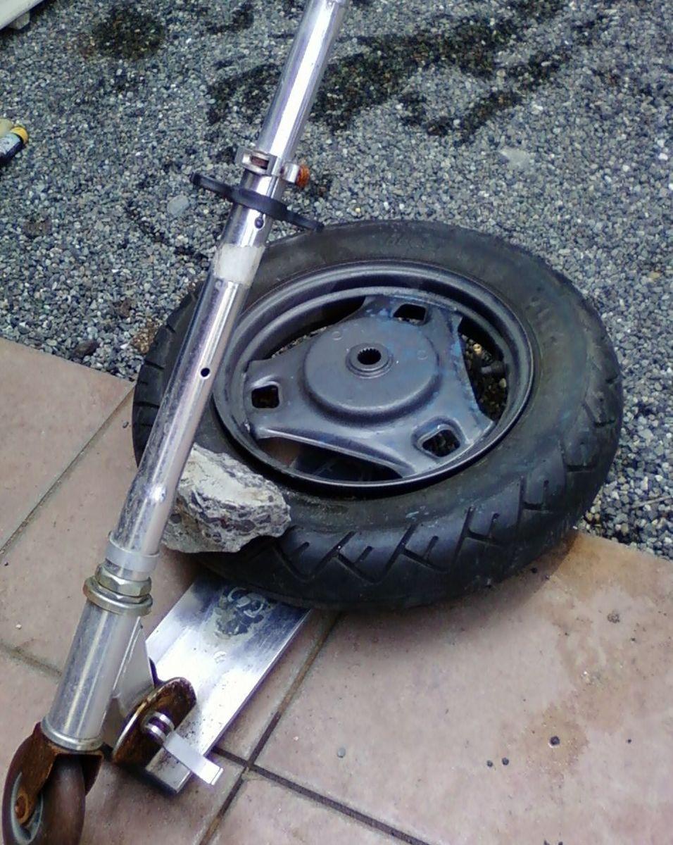 タイヤ 交換 ボード キック 交換用 タイヤ
