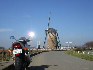 北総・印旛沼ツーリング/オランダ風車と甚兵衛そば | Webikeツーリング