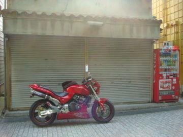 カスタムホーネット赤 IN 京都 | Webikeツーリング
