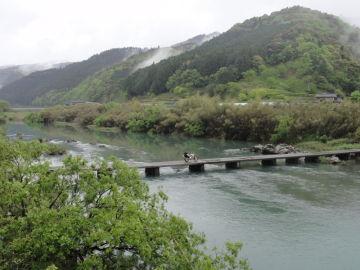 雨の沈下橋 | Webikeツーリング