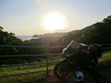足摺岬の夕日 | Webikeツーリング