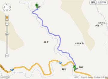 林道後山線(2013年8月7日) | Webikeツーリング