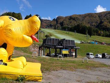 天空のカボチャプリン(丸沼高原スキー場) | Webikeツーリング