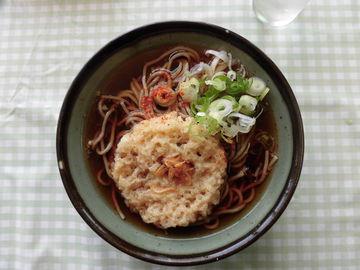 北海道1日目の昼食(名物駅そば) | Webikeツーリング