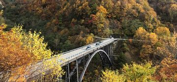 【F6B】紅葉狩りに昼から。ソロ~北アルプス大橋~ | Webikeツーリング