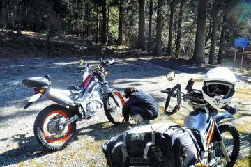 ブログ更新~オートバイの旅~justa2ofus-kzblues.com「三河林道探索。禁断B第4回 with M氏。とりあえず完結の巻。2020.2.24(月)」   Webikeツーリング