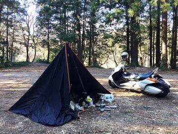 1/2(水)-3(木)新年キャンプ「月川荘キャンプ場」 | Webikeツーリング