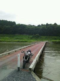 茨城県久慈川の沈下橋 | Webikeツーリング