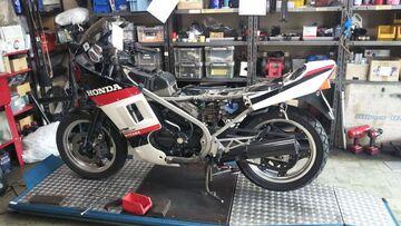 VT250F  エンジン不調修理