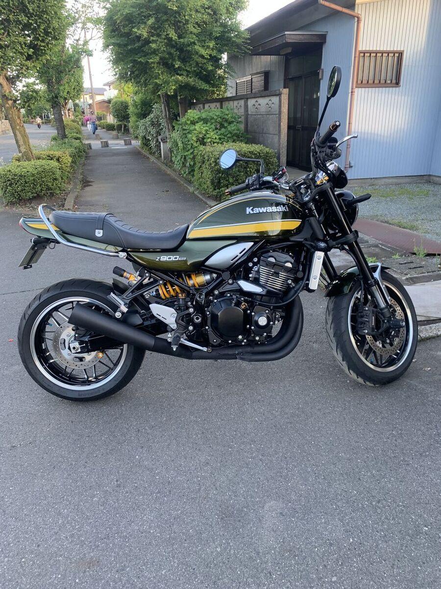 z900rs フル カスタム