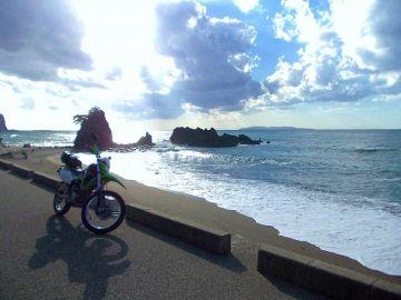 朝日から日本海   Webikeツーリング