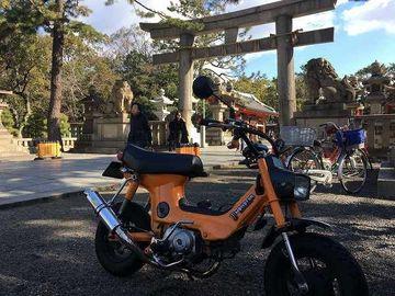 シャリーで大阪の神社めぐりと鰻まむしツーリング | Webikeツーリング