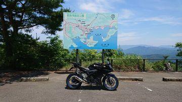 三方五湖レーンボーライン@YZF-R15改 | Webikeツーリング