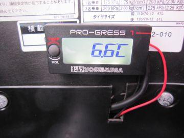 油温・電圧管理には欠かせません。