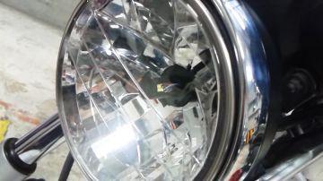 LED RIBBON XHP3525W H4型コンパクト LEDヘッドライトバルブキット