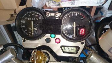 SPI-110 シフトポジションインジケーター 【5速-6速/12V用】