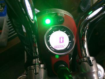 DタイプLCDスピード&タコメーター(ノーマルライトケース用)