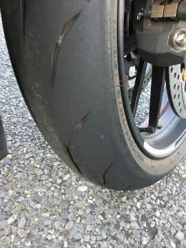 BATTLAX RACING STREET RS10 Hレンジ【110/70R17 M/C 54H】バトラックス レーシング ストリート タイヤ