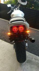 HIGHSIDER CONERO LED TURNSIGNAL,MATT BLACK,PAIR
