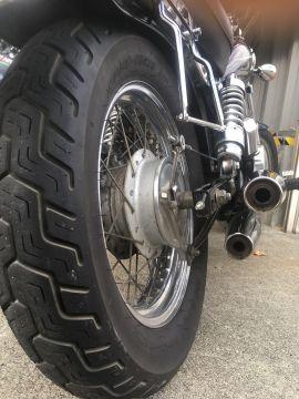Kabuki D404【130/90-15 MC 66P WT】カブキ タイヤ