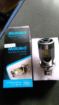 LEDヘッドライトバルブセット H4/HS1 放熱ファン付
