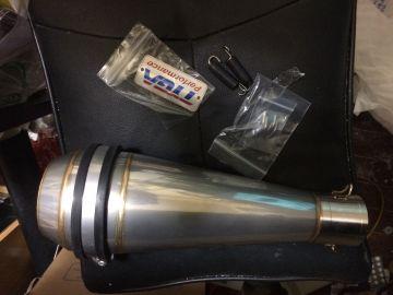 サイレンサー ステンレス製 モトマゴット 50.8mm