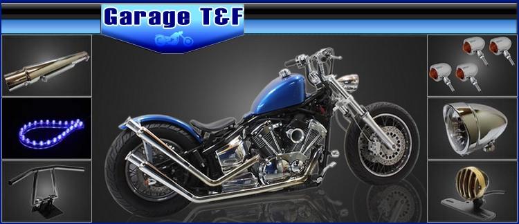 メッキ (XV250ビラーゴ) ビラーゴ250 ガレージT&F ブラック スモールブレットウィンカーキット ウインカー関連パーツ
